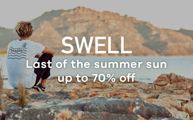 Last of the summer sun | up to 70% off SWELL